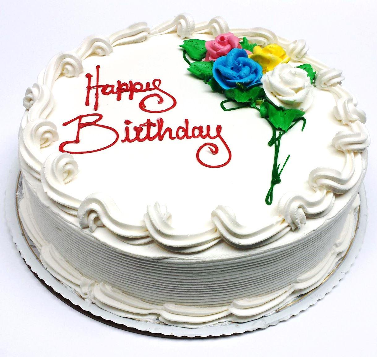 Inch Birthday Cake Circle